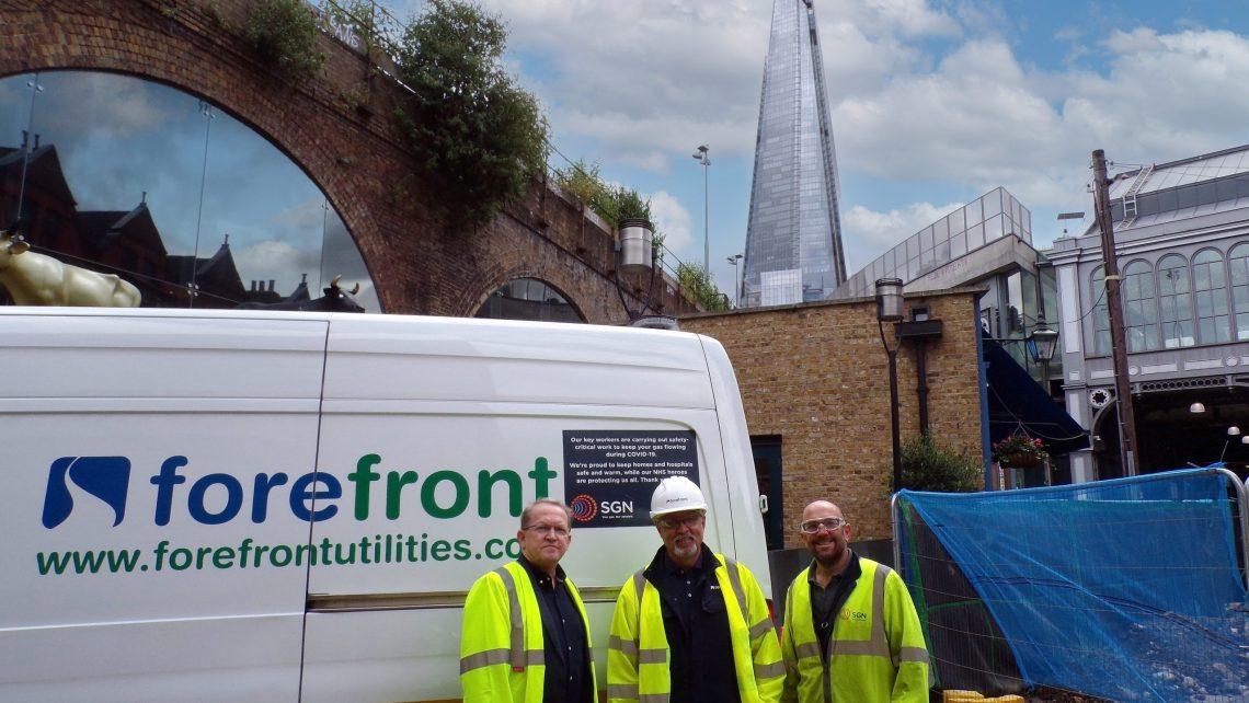 forefront utilities at borough market london